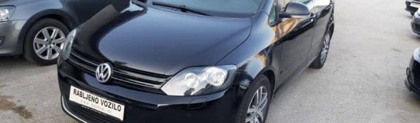 VW Golf Plus 1,6 TDI navi + bluetoot